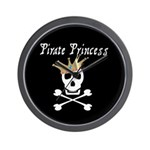 Pirate Princess Wall Clock