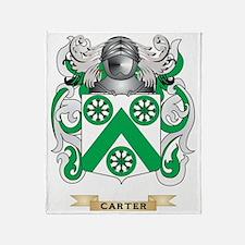Carter Coat of Arms Throw Blanket