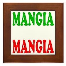 Mangia Framed Tile