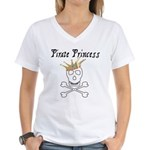 Pirate Princess Women's V-Neck T-Shirt