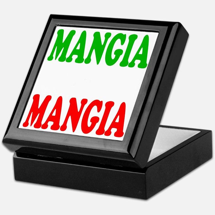 Mangia Keepsake Box