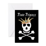Pirate Princess Greeting Cards (Pk of 10)