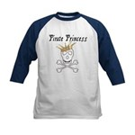 Pirate Princess Kids Baseball Jersey