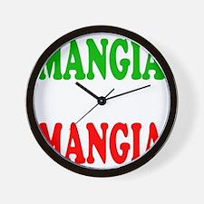Mangia Wall Clock