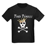 Pirate Princess Kids Dark T-Shirt