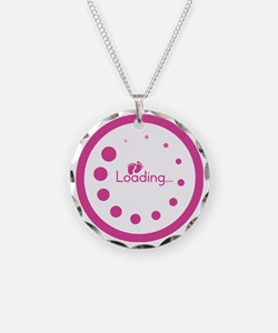 Loading Baby Footprints Necklace