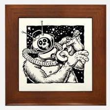 Robot Monster Framed Tile