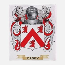 Casey Coat of Arms Throw Blanket