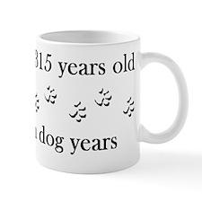 45 birthday dog years 4-1 Mug