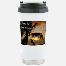 Sunset north shore Oahu Travel Mug