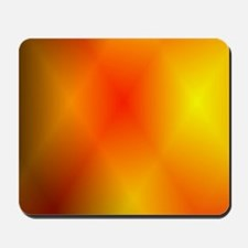 Bright Burnt Orange Mousepad