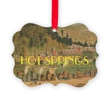 Hot Springs Ornament