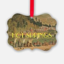 Hot Springs Picture Ornament