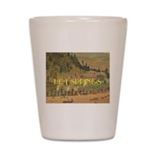 Hot Springs Shot Glass