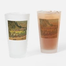 Hot Springs Drinking Glass