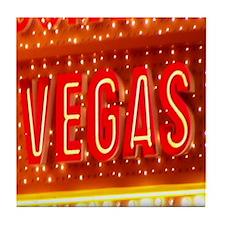 Vegas Orange Tile Coaster