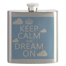 Keep Calm and Dream On Flask