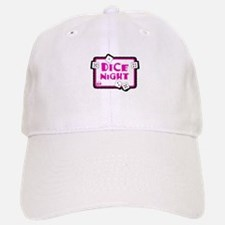 Dice Night Baseball Baseball Cap