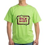 Dice Night Green T-Shirt
