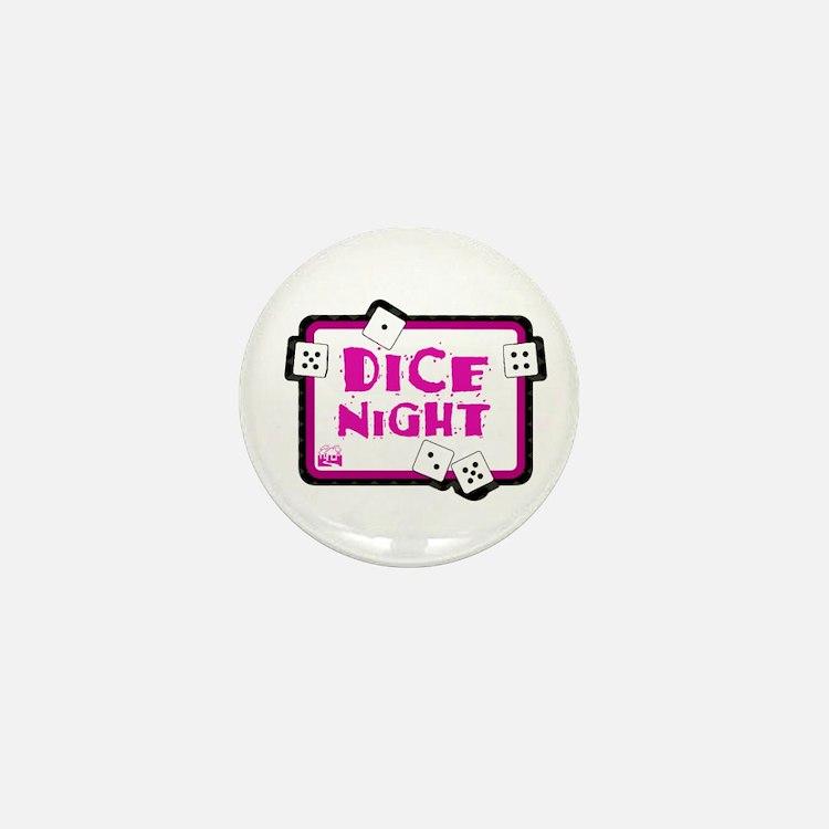 Dice Night Mini Button