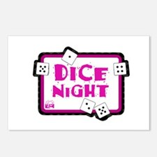 Dice Night Postcards (Package of 8)