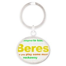 Beres Oval Keychain