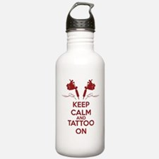 Keep calm and tattoo o Water Bottle