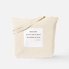 David Hume Gifts Tote Bag
