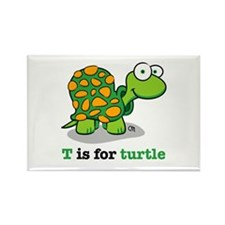 Funny Baby turtle Rectangle Magnet