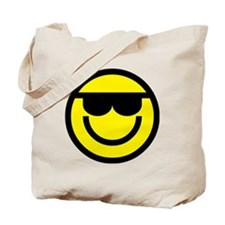cool dude emoticon Tote Bag