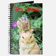Chipmunk and garden bunny Journal