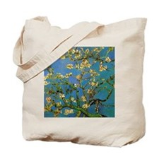 Blossoming Almond Tree by Vincent van Gog Tote Bag