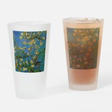 Blossoming Almond Tree by Vincent v Drinking Glass