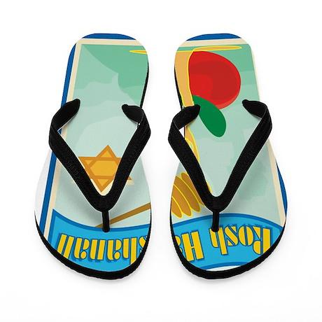 Rosh Hashanah Flip Flops