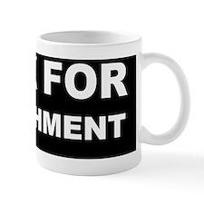 honk for impeachment dark Mug