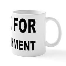honk for impeachment sign Mug