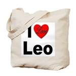 I Love Leo Tote Bag
