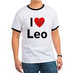 I Love Leo (Front) Ringer T