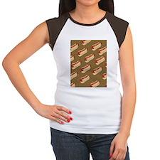Hotdogs Women's Cap Sleeve T-Shirt