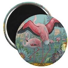 Vintage Flamingo Magnet