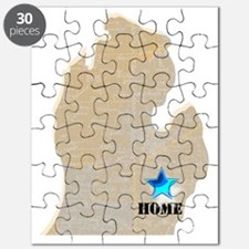 Michigan Is Home Puzzle