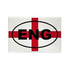 England ENG European Rectangle Magnet