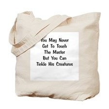 The Master's Creatures Gifts Tote Bag