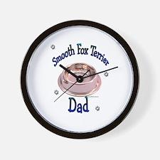 Smooth Fox Dad Wall Clock