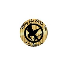 May the Odds Be Ever In Your Favor Mini Button