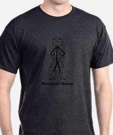 Personalized Super Stickman T-Shirt
