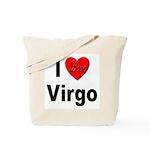 I Love Virgo Tote Bag