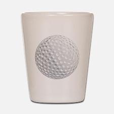 golf ball Shot Glass