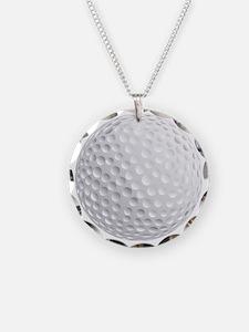 golf ball Necklace