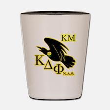 Kappa Mu Gold Shot Glass